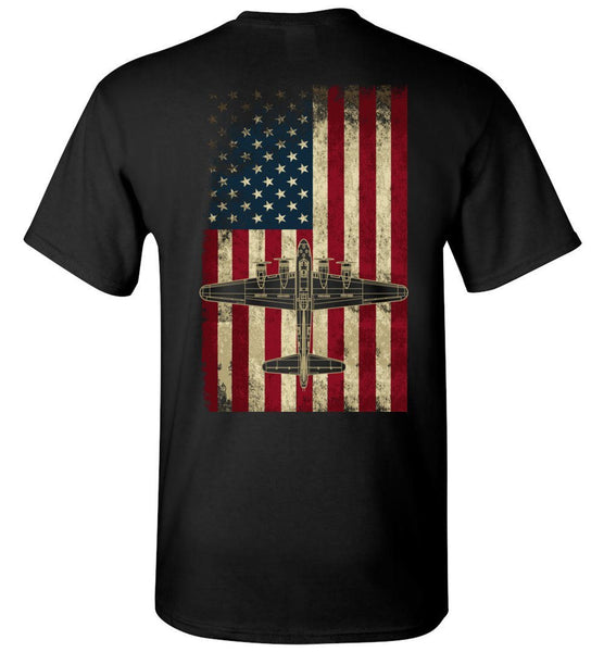 T-shirt - Awesome B-17 Flying Fortress Shirt