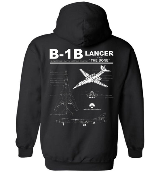 T-shirt - Awesome B-1B Label Hoodie!