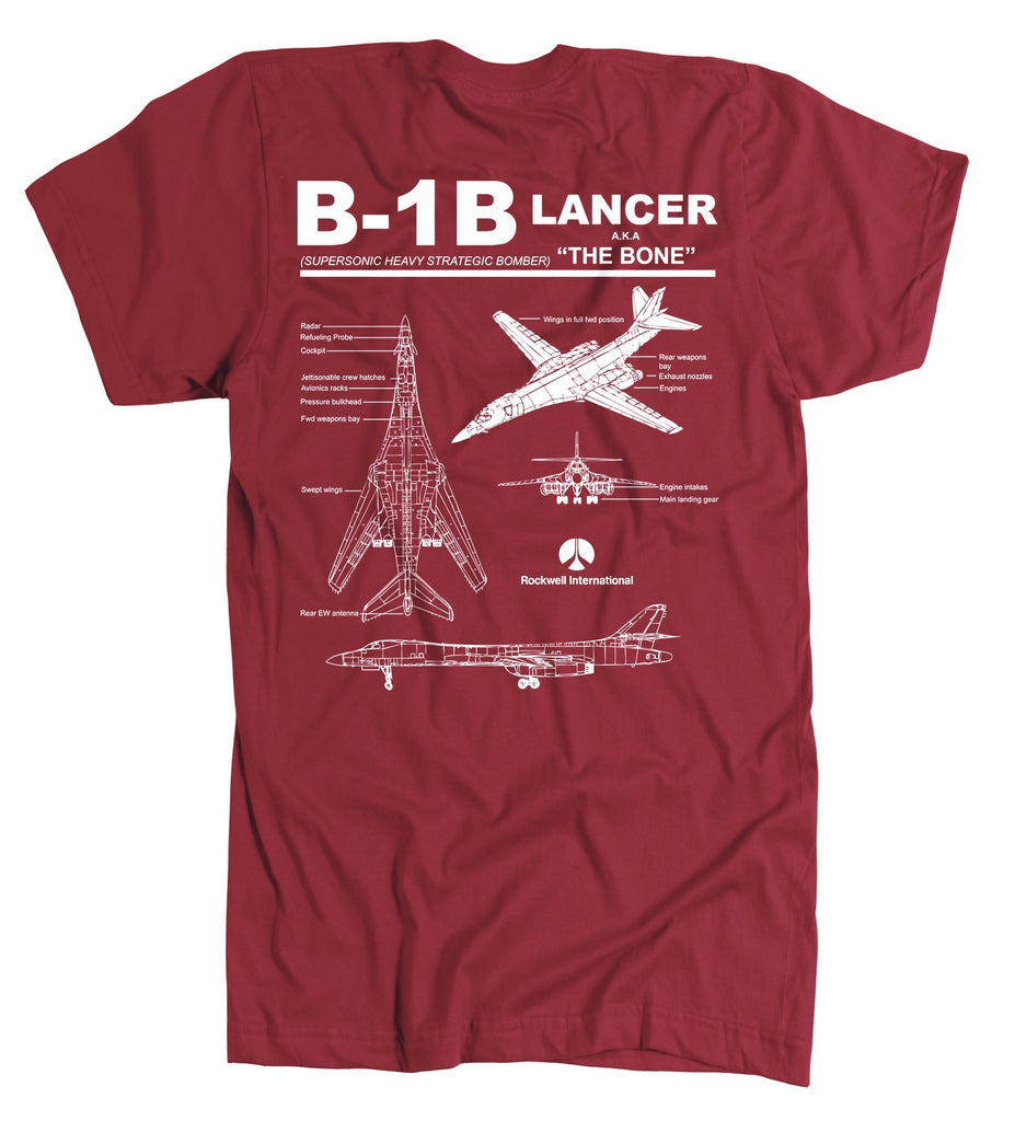 T-shirt - Awesome B-1B Label Shirt!