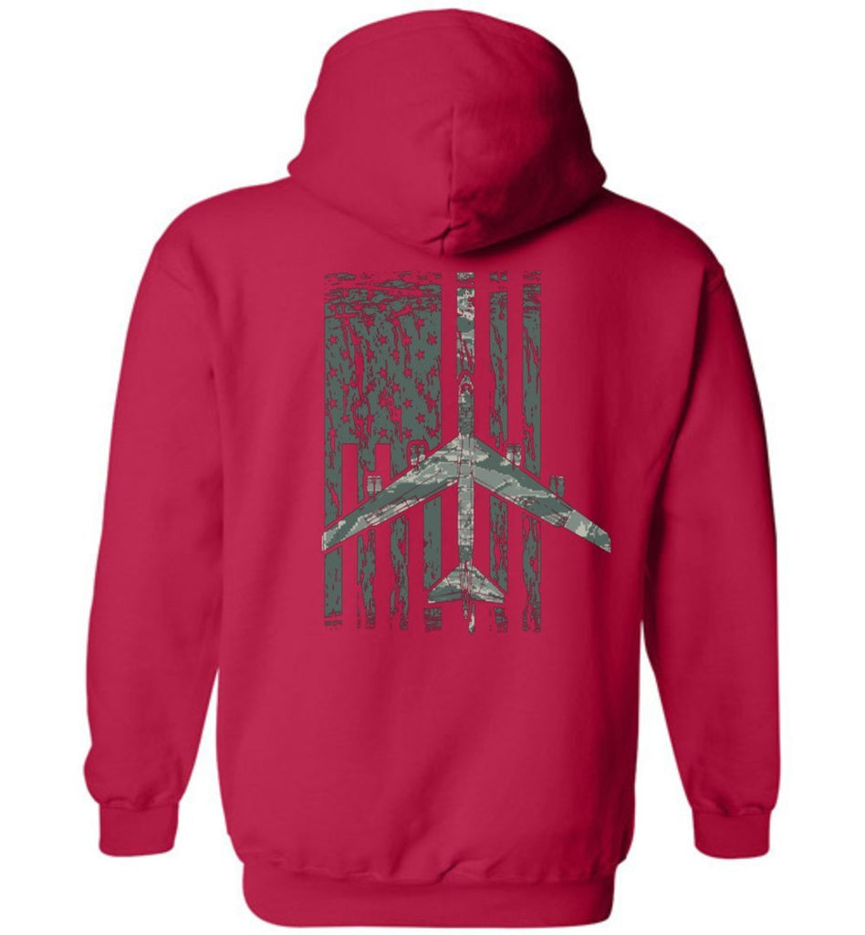 T-shirt - Awesome B-52 ABU Flag Hoodie!