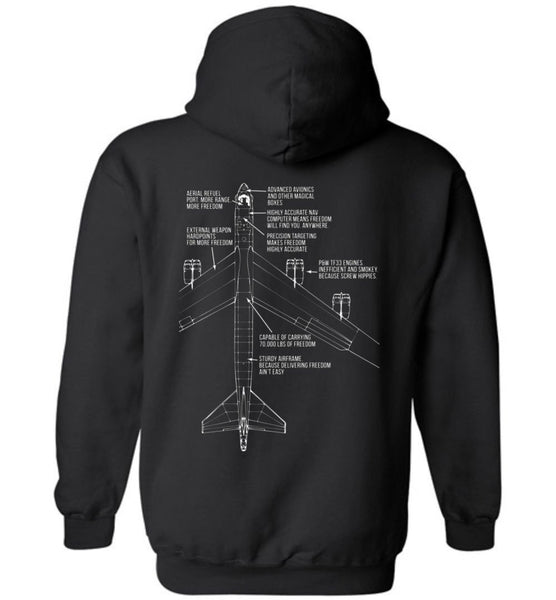 T-shirt - Awesome B-52 Bringing The Freedom Hoodie!
