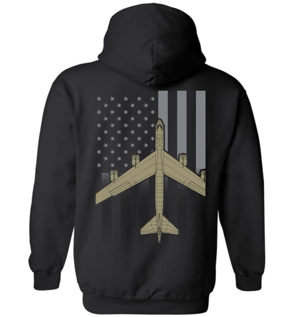T-shirt - Awesome B-52 Subdued Flag Hoodie