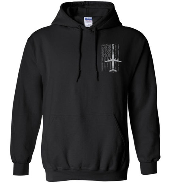 T-shirt - Awesome BAe-146 Flag Hoodie!