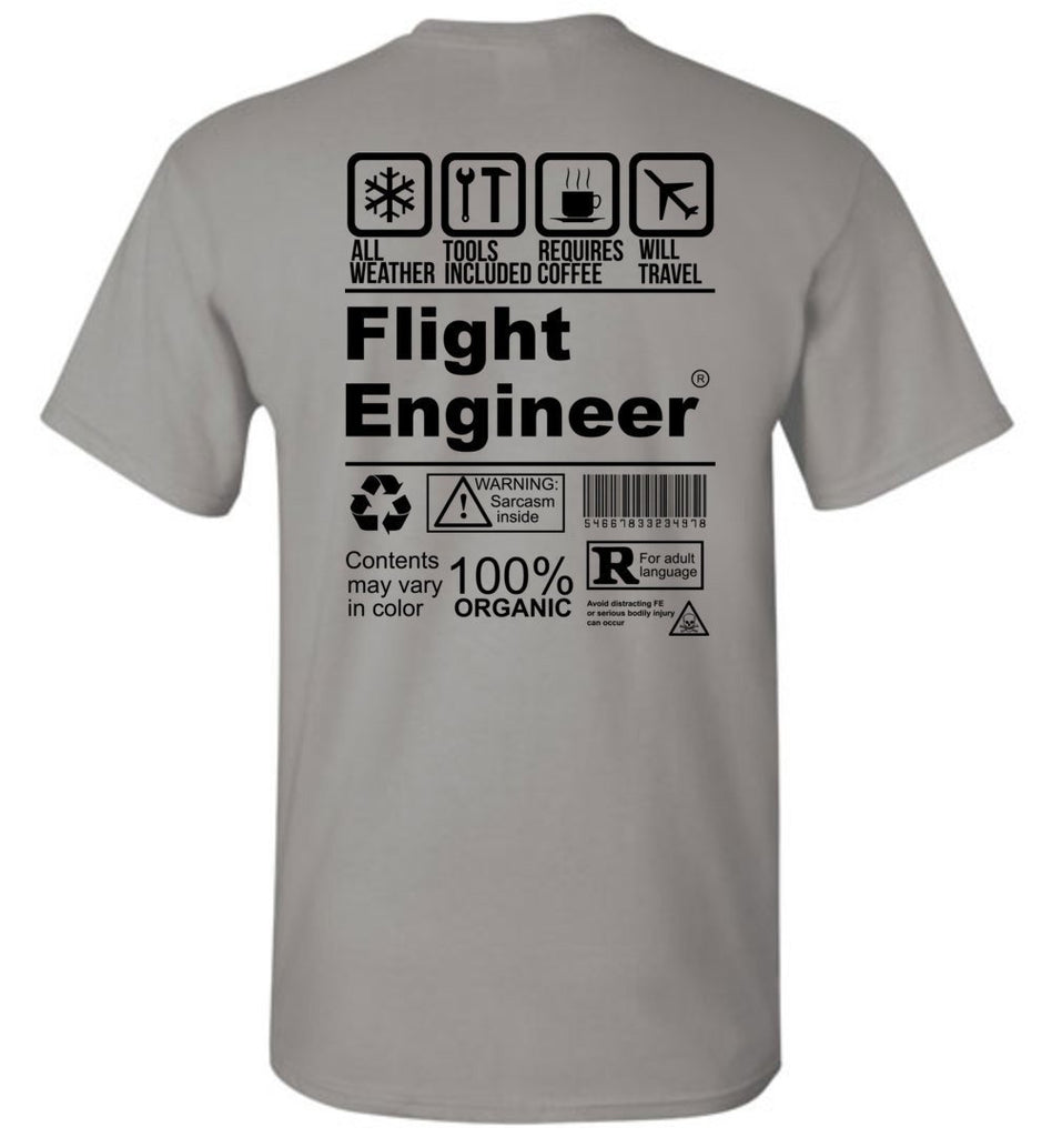 T-shirt - Awesome CH-47 Flight Engineer Shirt!