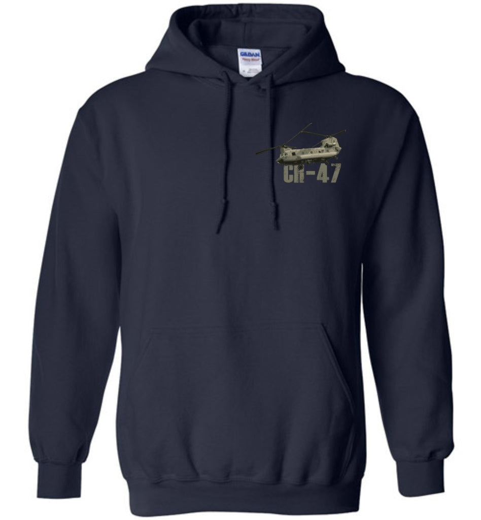 T-shirt - Awesome CH-47 Hookers Flag Hoodie