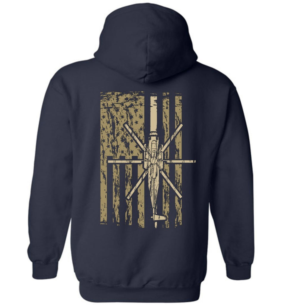 T-shirt - Awesome CH-53D Flag Hoodie!