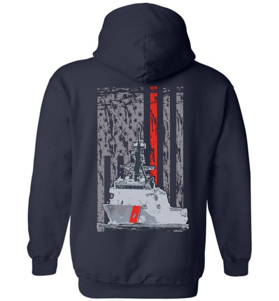 T-shirt - Awesome Coast Guard Cutter Hoodie!