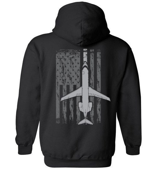 T-shirt - Awesome CRJ-200 US Flag Hoodie!