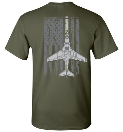 T-shirt - Awesome EA-6B Flag Shirt!