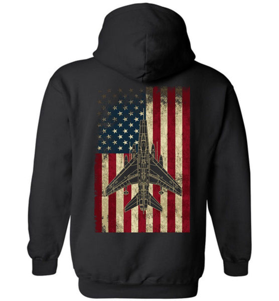 T-shirt - Awesome F-100 Flag Hoodie
