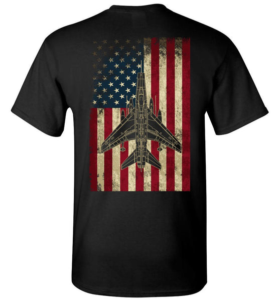 T-shirt - Awesome F-100 Flag Shirt