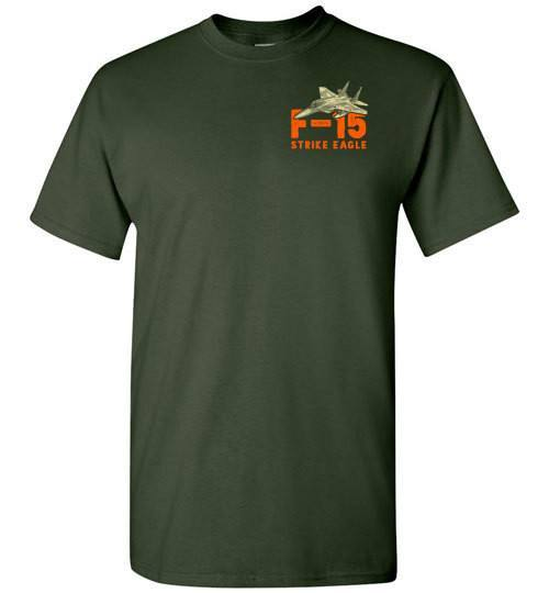 T-shirt - Awesome F-15 Strike Eagle Shirt!