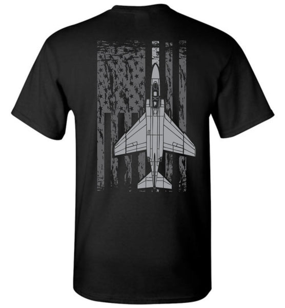 T-shirt - Awesome F-4 Phantom Flag Shirt!