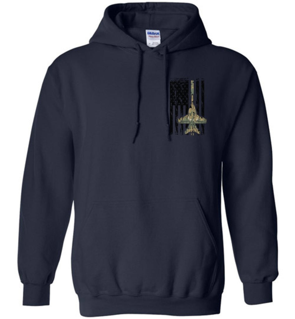 T-shirt - Awesome F/A-18 MARPAT Flag Hoodie