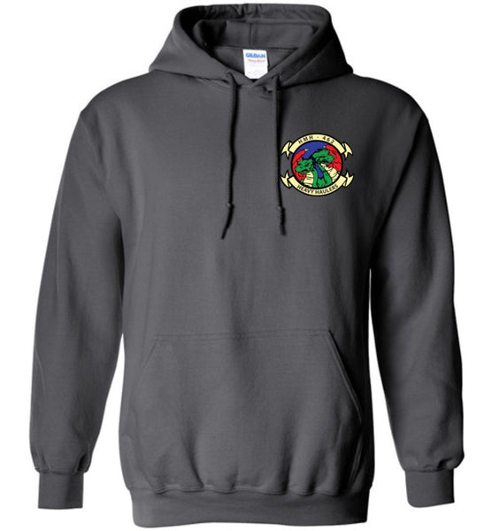 T-shirt - Awesome HMH-462 Heavy Haulers CH-43E Flag Hoodie!