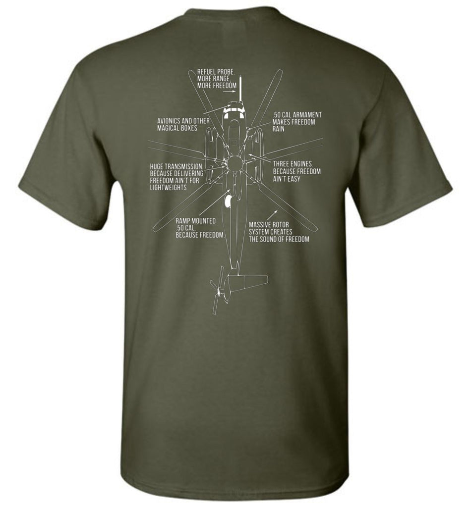 T-shirt - Awesome HMH-466 CH-53 Freedom Shirt!