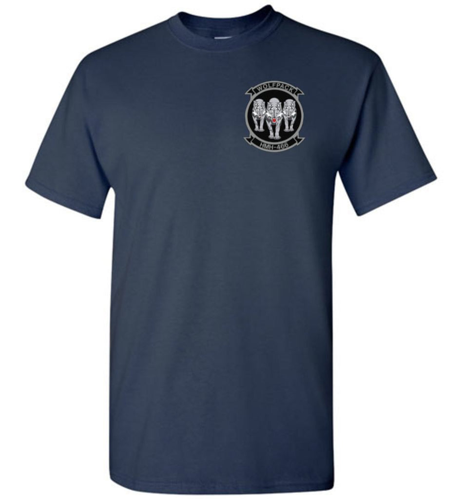 T-shirt - Awesome HMH-466 Wolfpack CH-53E Flag Shirt!