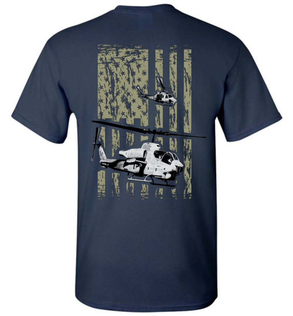 T-shirt - Awesome HMLA-467 AH-1W Helicopter Shirt!