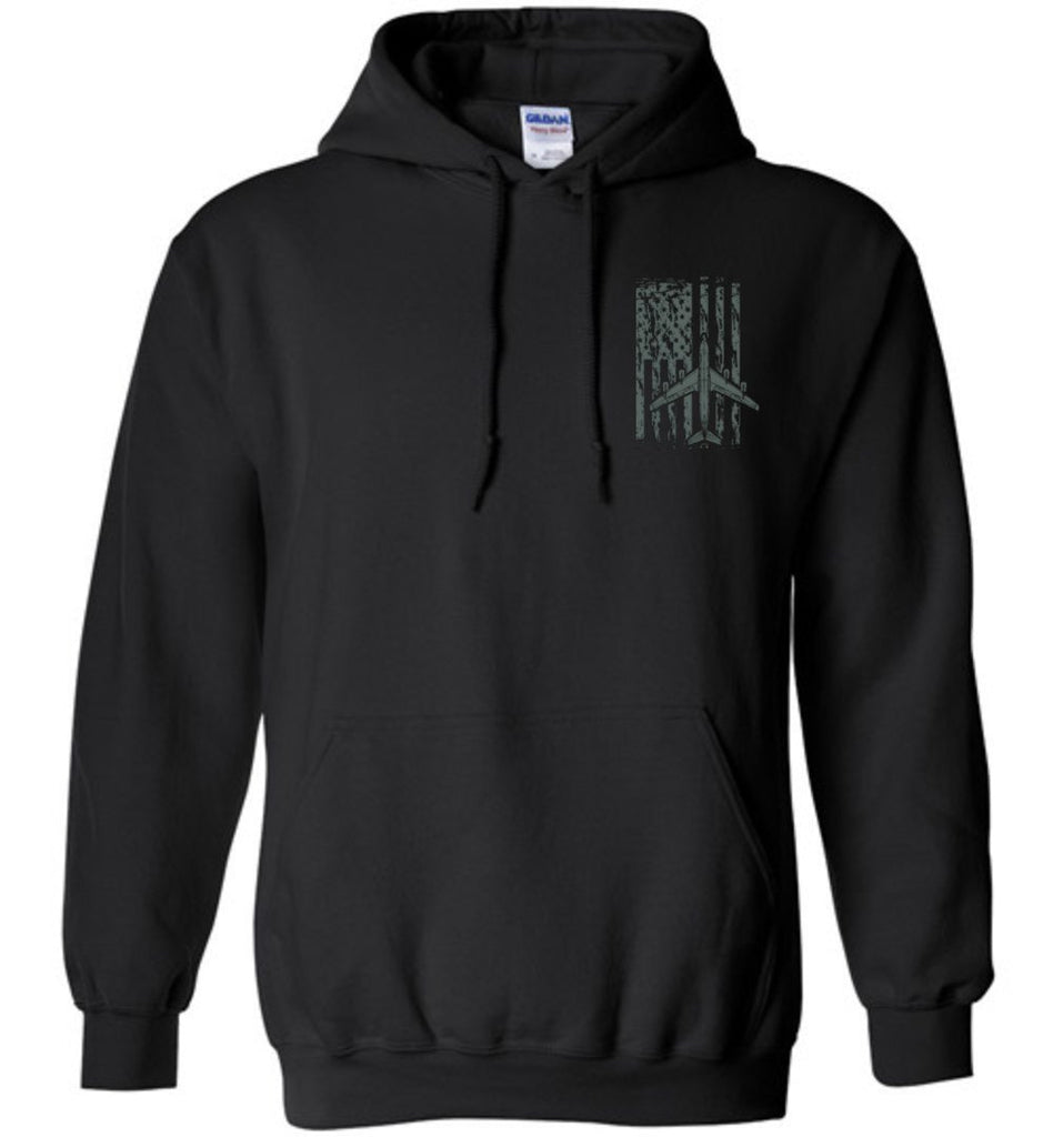 T-shirt - Awesome KC-135 Flag Hoodie!