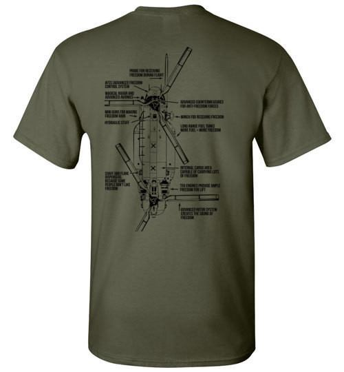 T-shirt - Awesome MH-47 Freedom 160th Shirt!