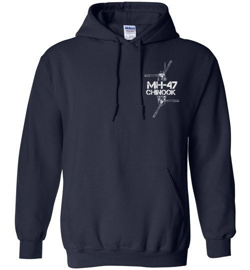 T-shirt - Awesome MH-47 Freedom Hoodie
