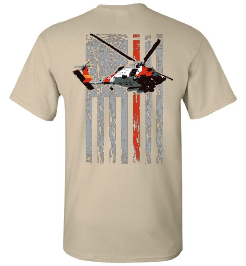 T-shirt - Awesome MH-60 Coast Guard Shirt