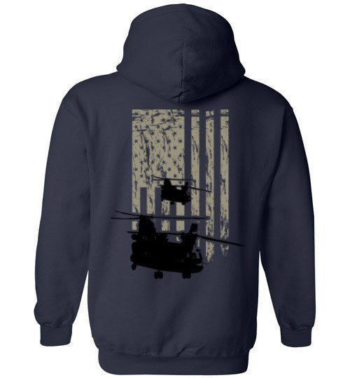 T-shirt - Awesome New CH-47 Flag Hoodie!