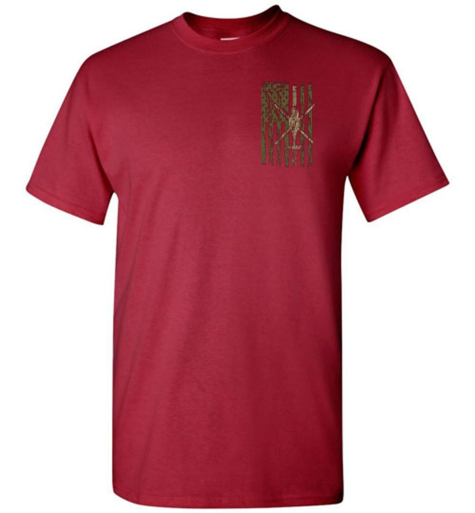 T-shirt - Awesome OH-58D Multicam Flag Shirt!