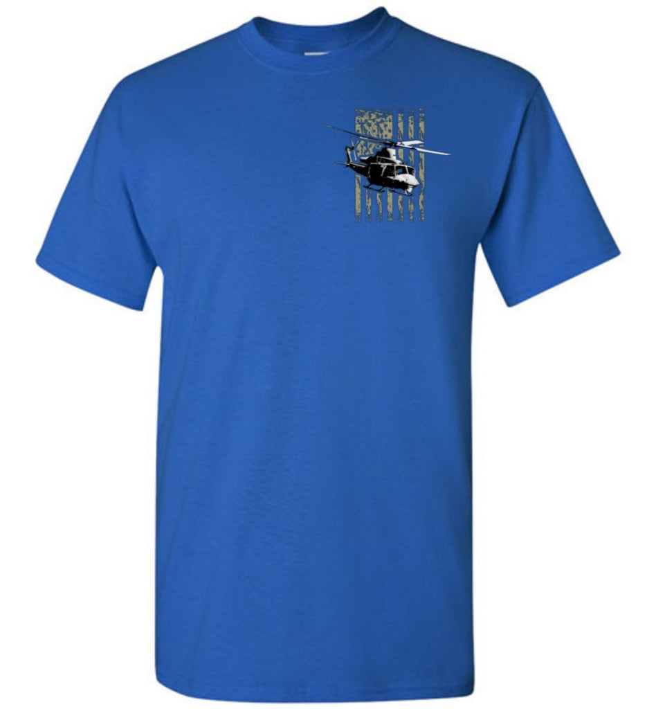 T-shirt - Awesome UH-1Y Flag Shirt!