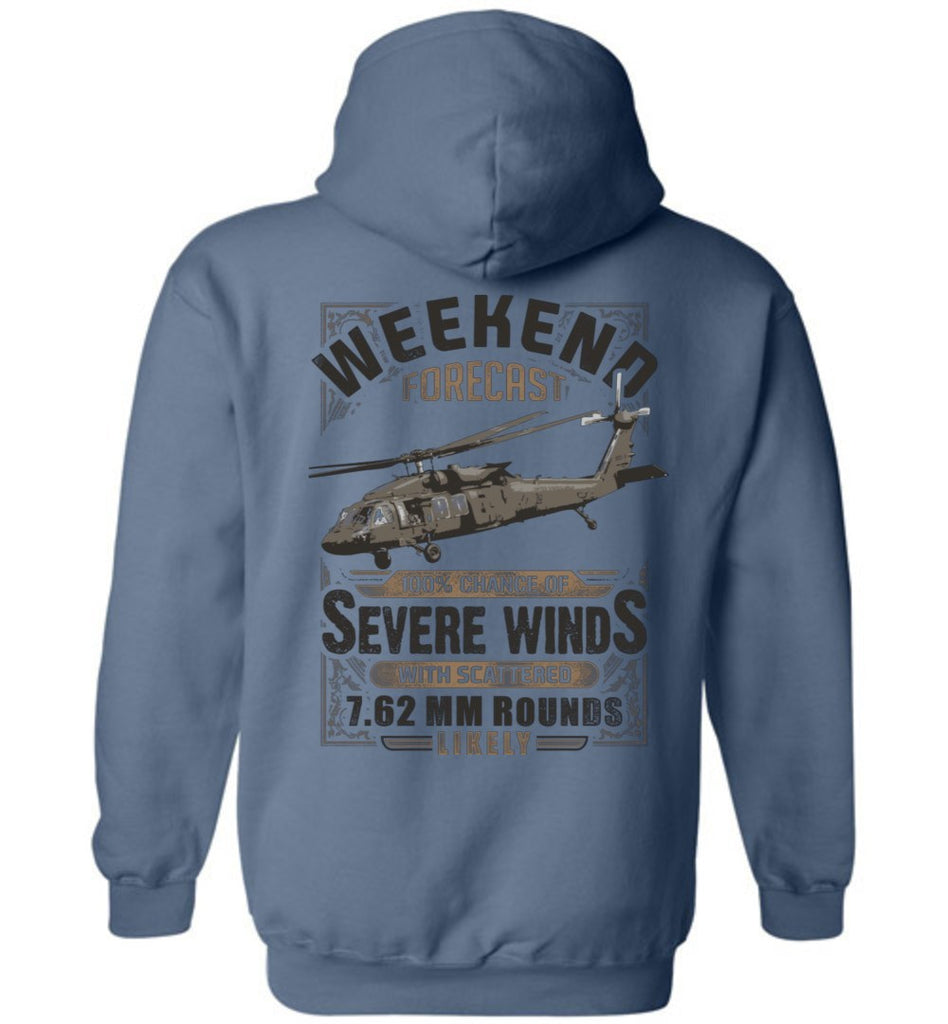 T-shirt - Awesome UH-60 Weekend Forecast Hoodie!