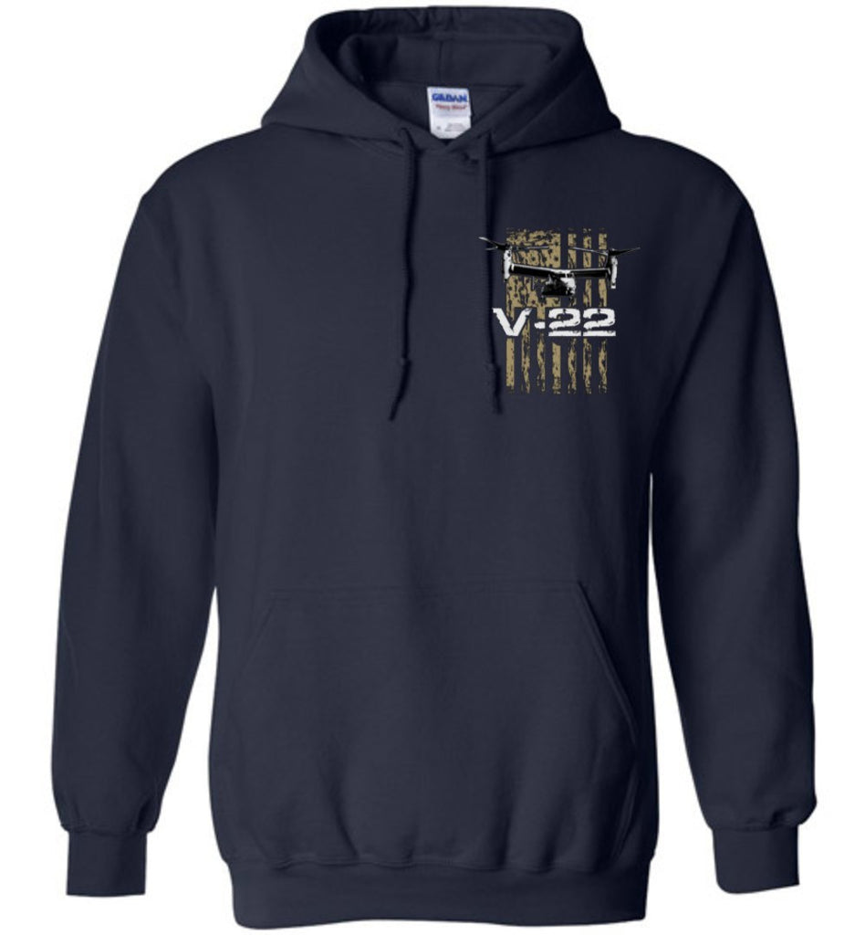T-shirt - Awesome V-22 Flag Hoodie