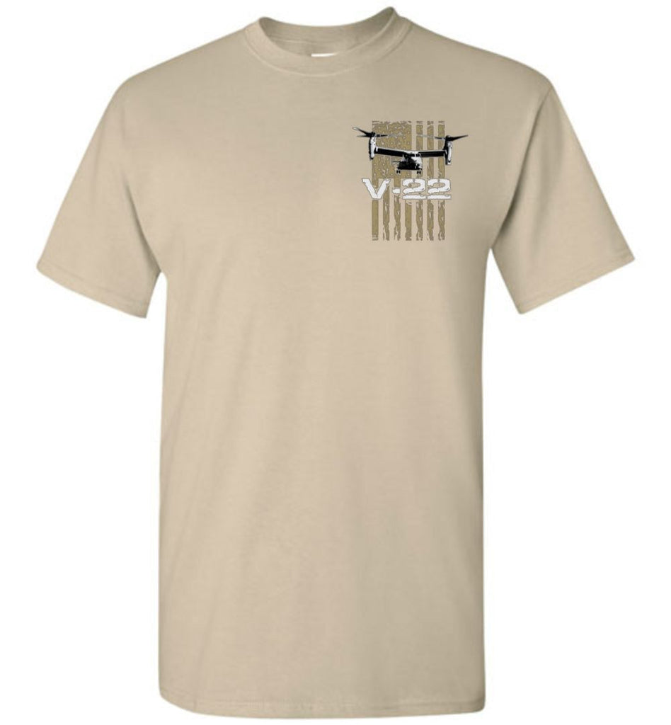T-shirt - Awesome V-22 Flag Shirt