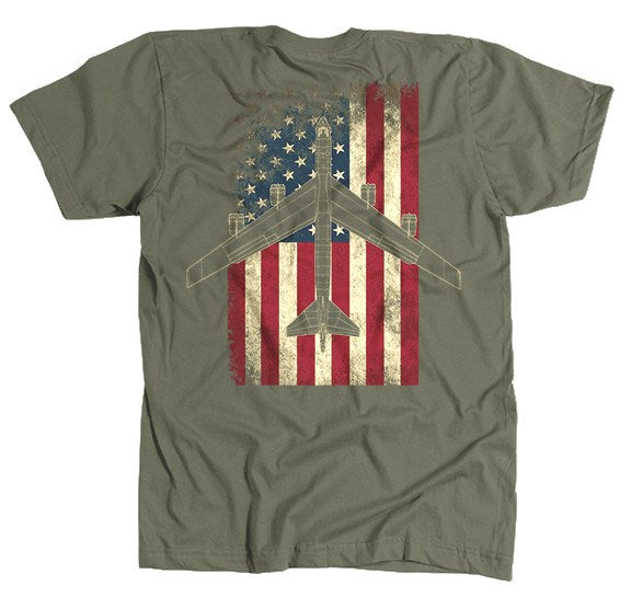 T-shirt - Awesome Vintage Color B-52 Flag Shirt
