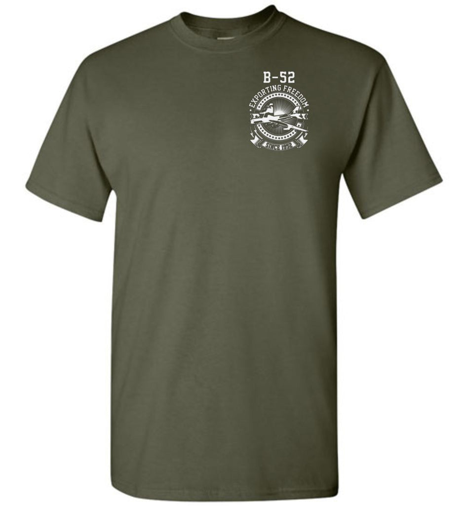 T-shirt - B-52 Exporting Freedom Since 1952!