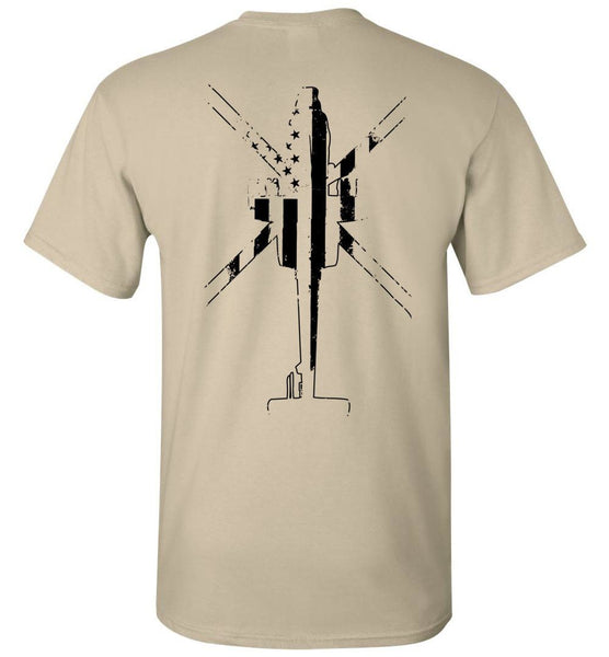 T-shirt - B Co. 4-4 AR AH-64 Tan Shirt