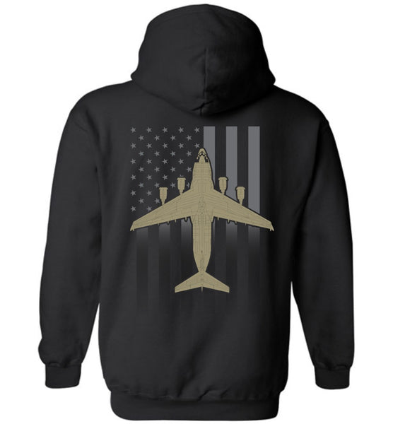 T-shirt - C-17 Subdued Flag Hoodie