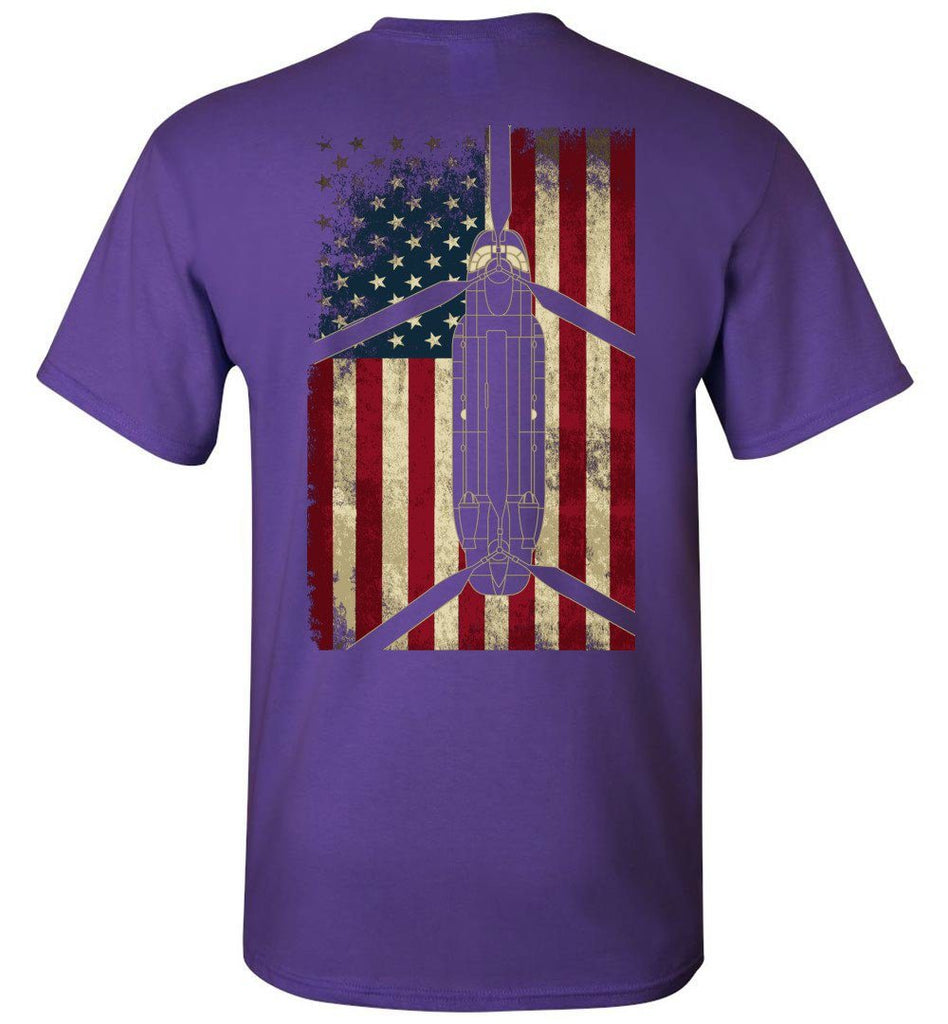 T-shirt - CH-47 Display Flag Shirt