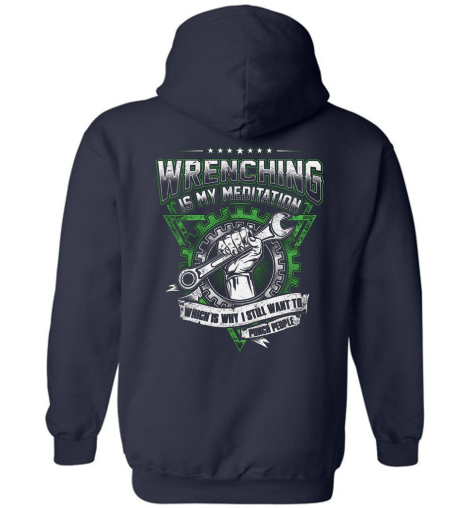 T-shirt - Diesel Mechanic Meditation Hoodie