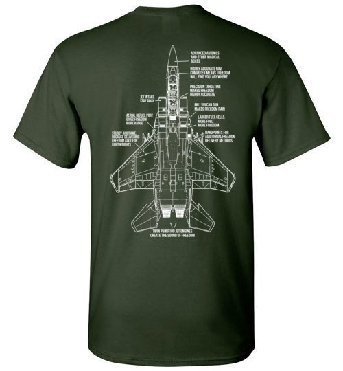 T-shirt - F-15 Brings The Freedom Shirt!