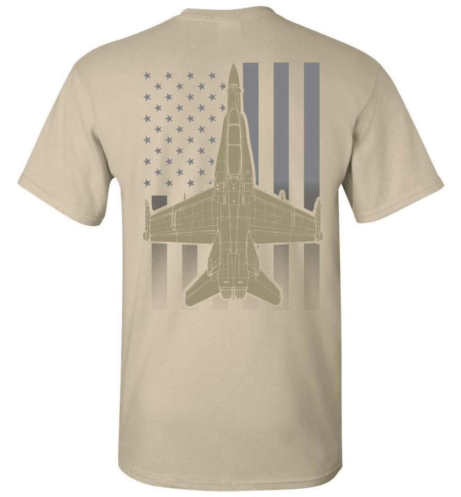 T-shirt - F/A-18 Subdued Flag Shirt!