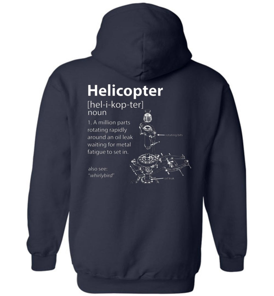 T-shirt - Funny Helicopter Definition Hoodie