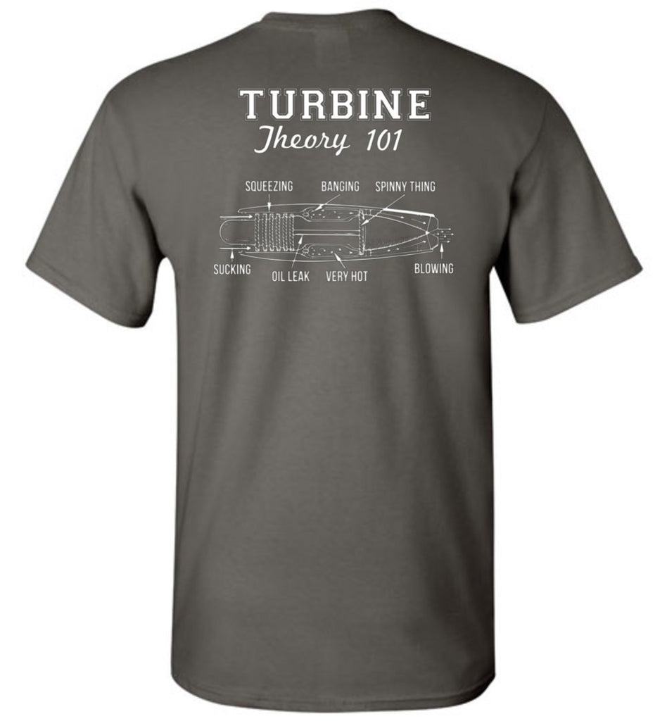 T-shirt - Funny Turbine Theory Shirt