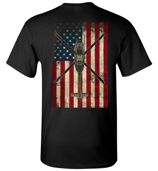 T-shirt - HH-60 Pave Hawk Vintage Flag Shirt