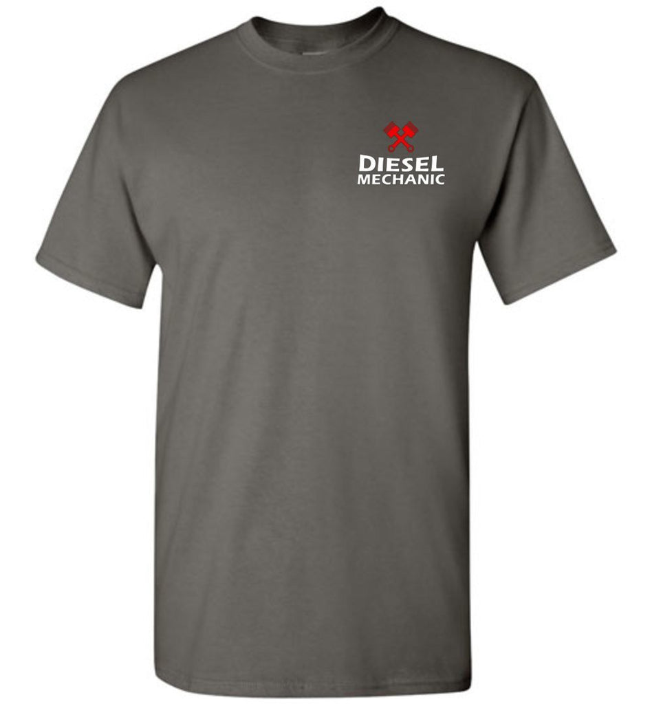 T-shirt - I Don't Always Cuss Diesel Mechanic Shirt