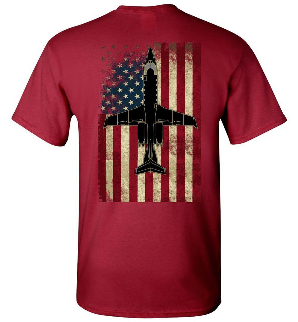 T-shirt - Learjet 60 Vintage Flag Shirt