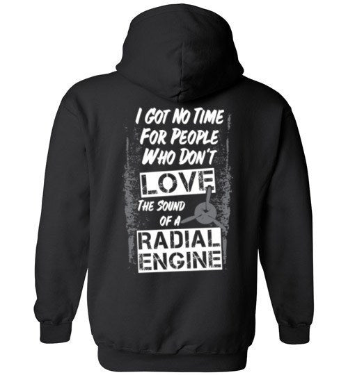 T-shirt - Love The Sound Of A Radial Hoodie!