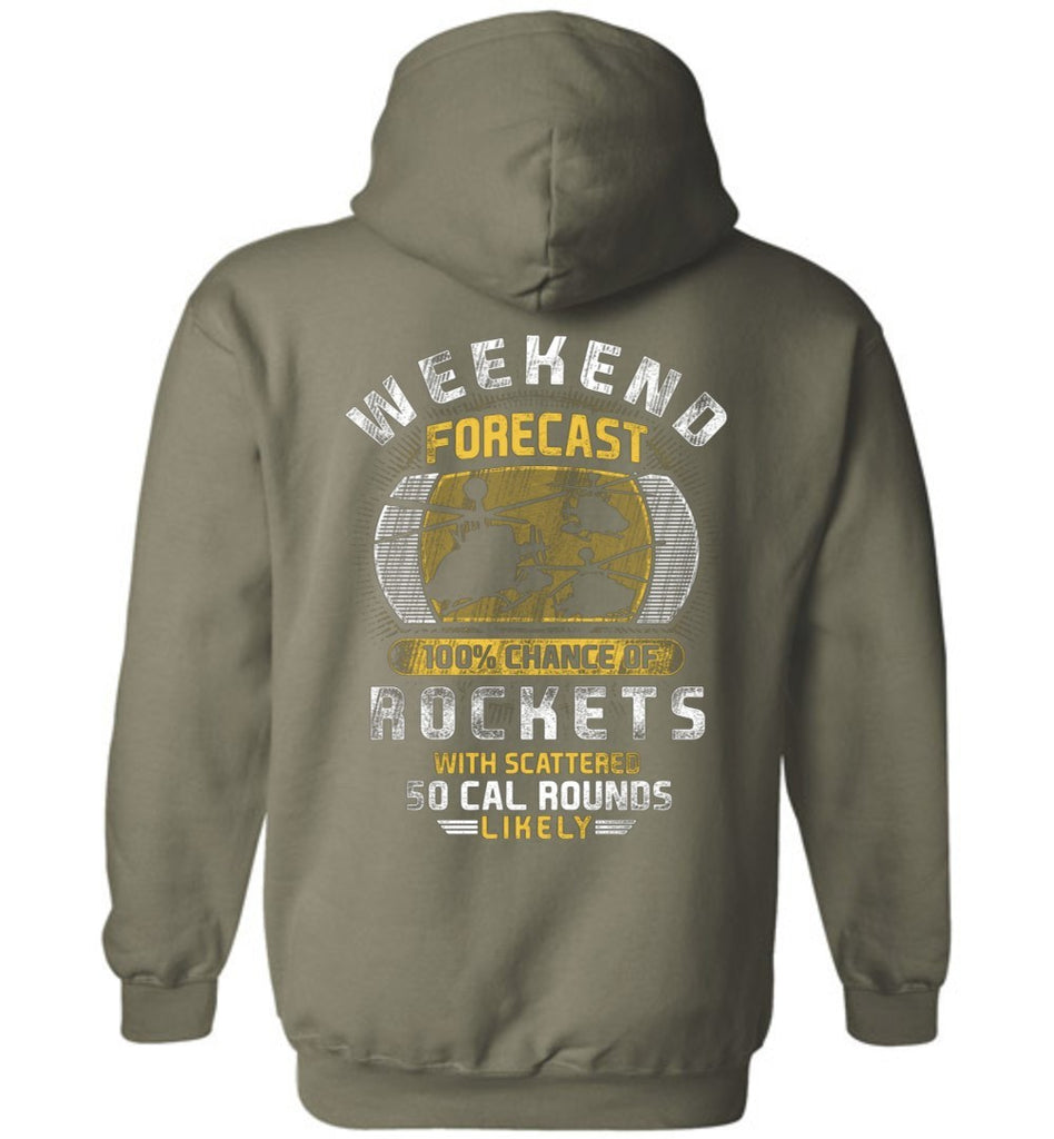 T-shirt - OH-58D Weekend Forecast Hoodie