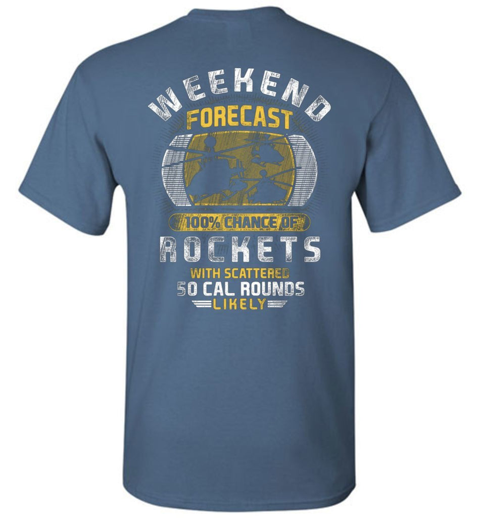 T-shirt - OH-58D Weekend Forecast Shirt