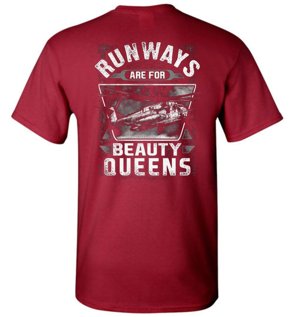 T-shirt - Runways Are For Beauty Queens HMH-466 CH-53E Shirt!