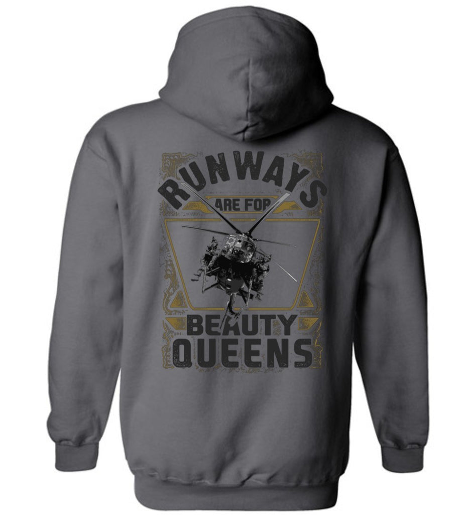 T-shirt - Runways Are For Beauty Queens MH-6 Hoodie